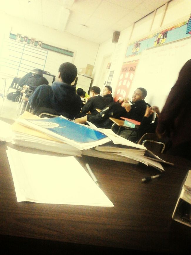 My Class View .! Lmao Lames