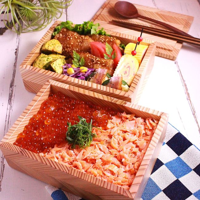 Japanese  Lunch Box Bento Kendo Practice 息子弁当