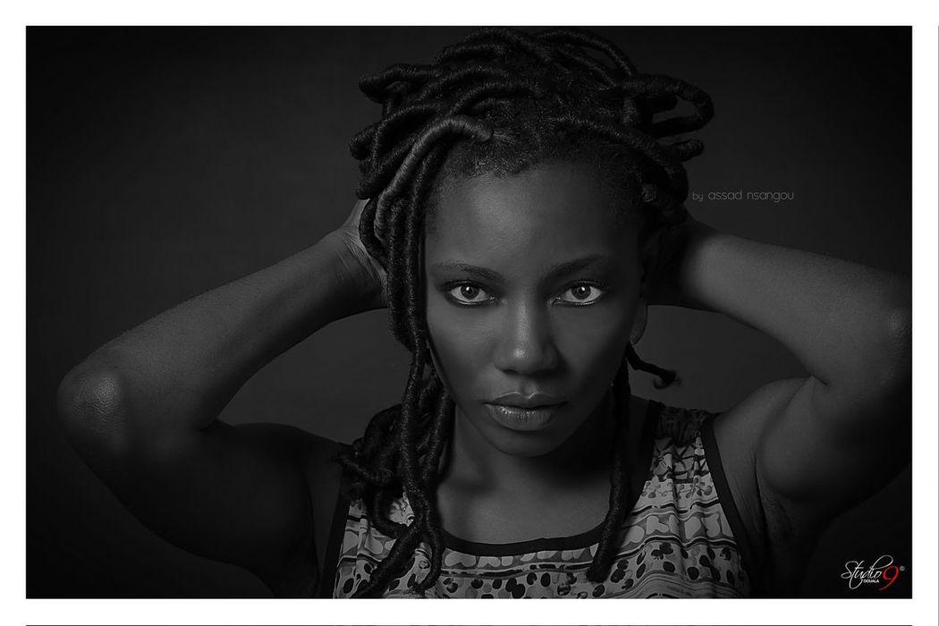 Blackandwhite Studio9douala Beautiful African Woman Africanphotographer Cameroonmodel Portrait Fashion Cameroonfashion Cameroonphotographer Blackmodel Women