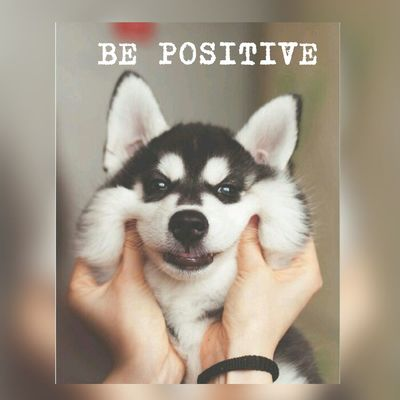 BE POSITIVE ! Encouragement Shout SMILEBIGSMILE NeverGiveUp💪👣 Nevergivein Hope
