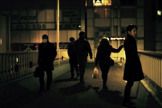 さよなら金曜日 Light And Shadow Tokyo Portrait Night 人々