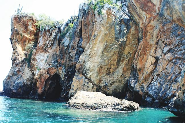 Rocks Rock Rocky Rocks And Water Sea The KIOMI Collection Carribean Mochima Nature Background Backgrounds No People