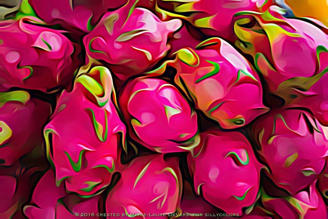 Fruit Du Dragon Dragonfruit Dragon Fruit Tropical Fruit Illustrationart Sillycolors Silly Colors Digital Drawing Digital Painting Digital Art