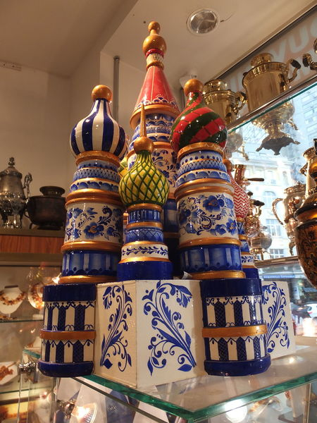Model of St Basil's Cathedral Art Art And Craft Cathedral Ceramic Composition Day Indoors  Model Moscow Multicoloured Retail  Russia Shop Shopping St Basil's Cathedral Tourist Attraction