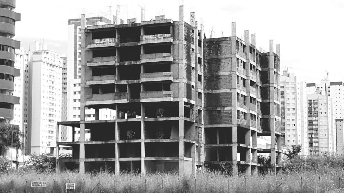 City Brazil Abandoned Places Abandoned Buildings Lost Places Blackandwhite Photography Black And White Touching Brasilian Graffiti Art