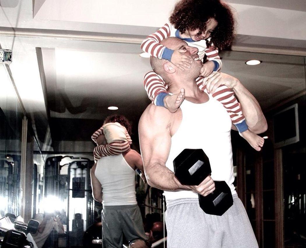 Warmth my heart | Pho to from Vin Diesel's Facebook Warmth Daddy Family Vindiesel Vin Diesel❤️