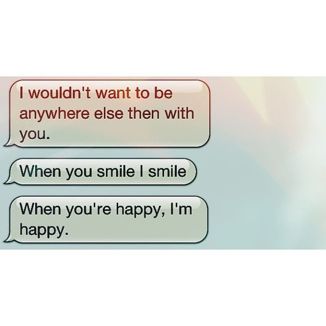 Honestly you make me feel so much better. @xxcipollaxx Love LDR Text Pleasestay happy