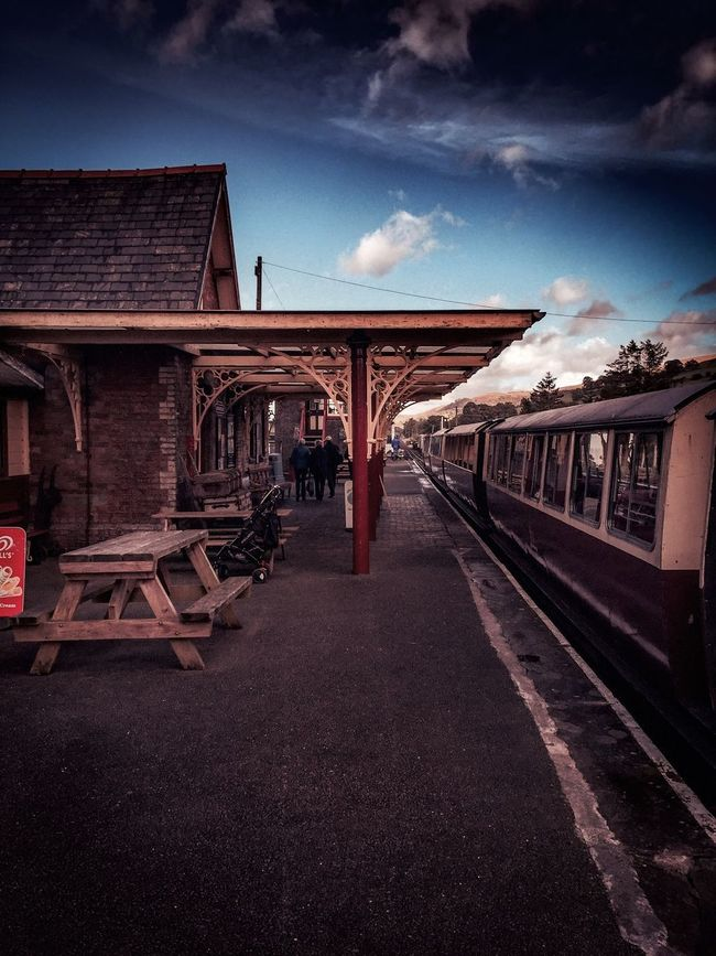 Sky Transportation Day Cloud Train Train Station Holiday Wales Wales❤ Wales UK Steam Locomotive Nikonphotography Nikonphotographer Nikond3300 Nikon Eeyem Eeyem Photography EeyemBestPhotography Eeyemgallery Edited Edit Editorial  Outdoors