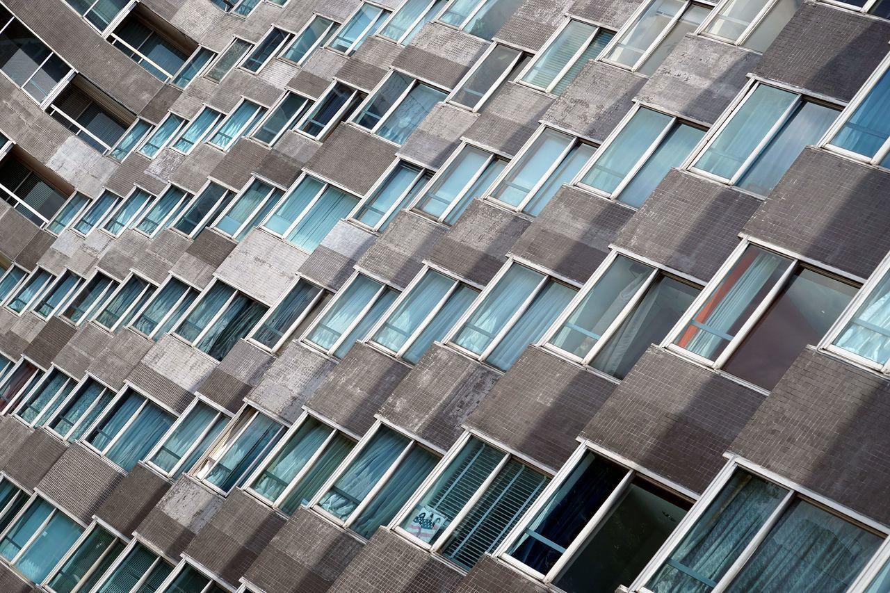 Architecture Building Exterior Built Structure Façade No People Repetition Windows