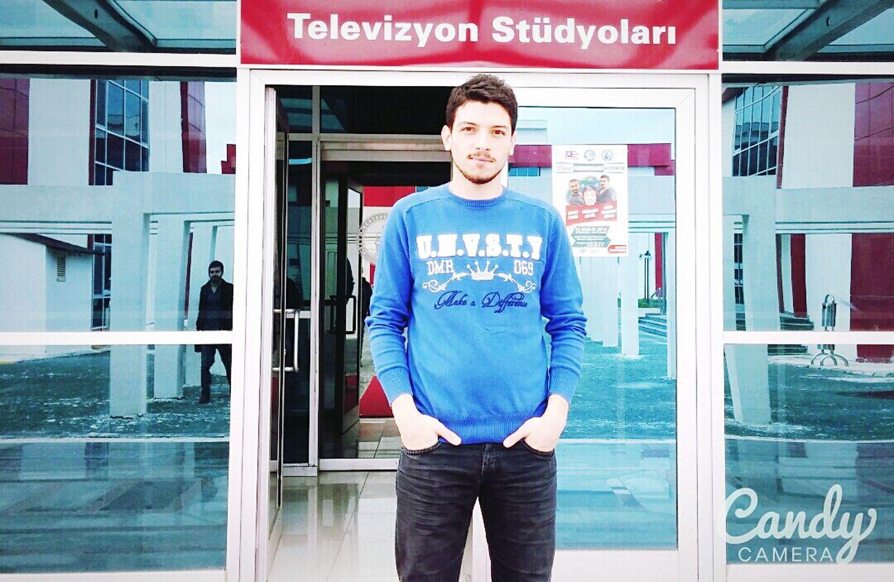 That's Me TV Studio Director Hello World