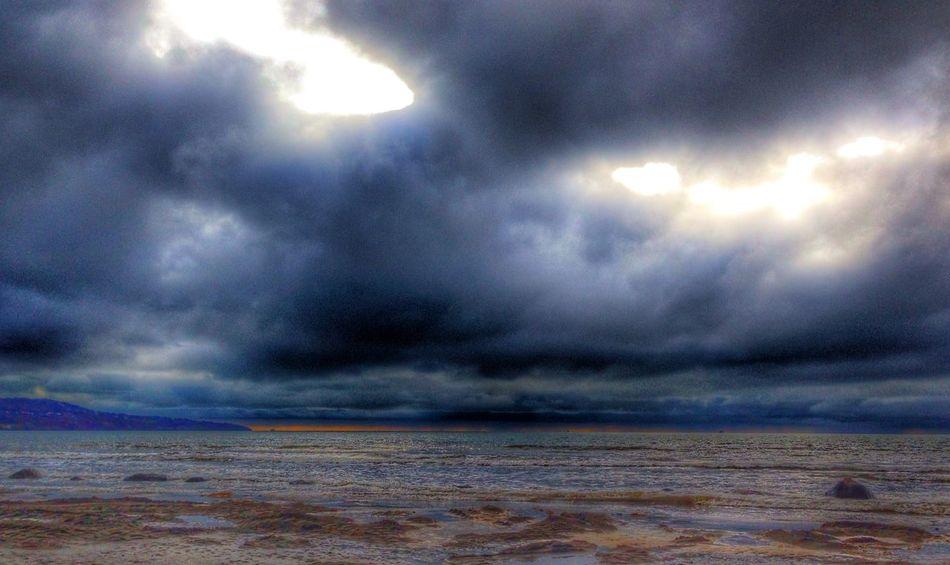 HDR Sunrise Cloudporn Seascape