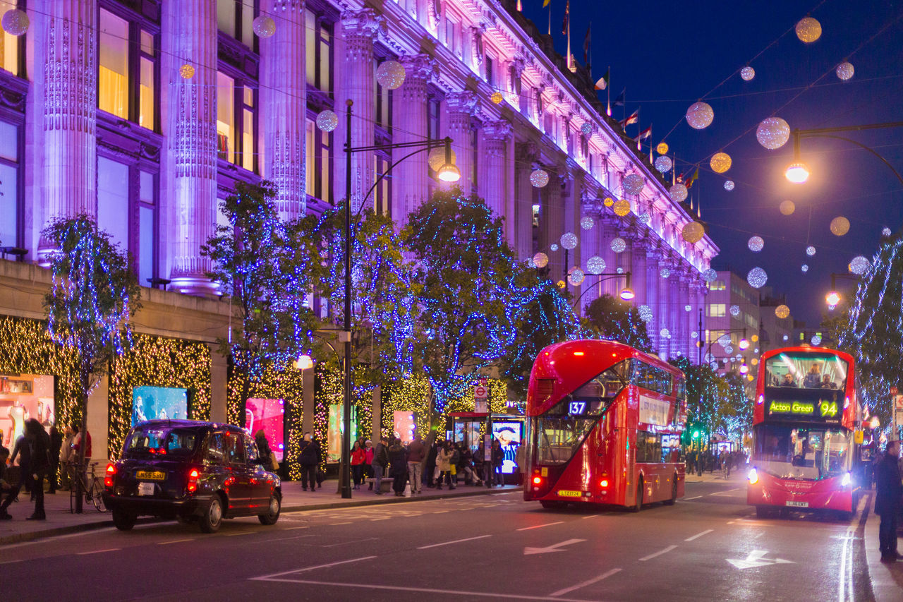 Xmas decorations on the streets of London in 2016 Bond Street Central London Landscape London At Night  New York Nigh London Night Shots  Oxford Circus Oxfordstreet Red Bus Regentstreet Street Light Streetphotography Sunset Taxi United Kingdom Xmas Xmas Decorations Xmas Lights  Xmas London Xmas Tree Xmas2016 лондон рождество