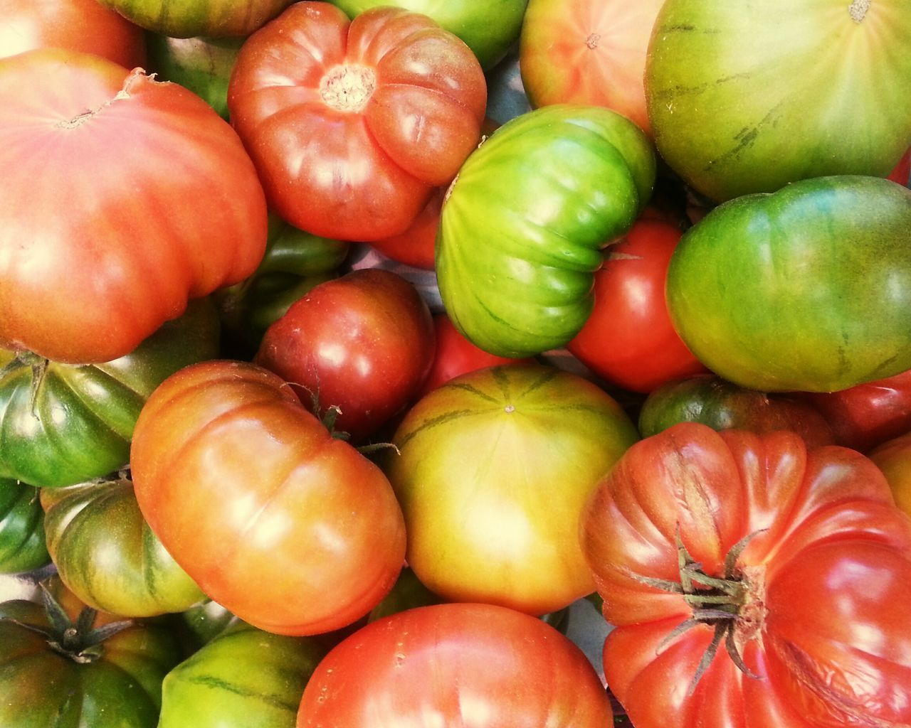 Ecologic tomatos Food Healthy Eating Food And Drink Freshness Fruit Abundance Green Color No People Large Group Of Objects Full Frame Close-up Market Backgrounds Outdoors Day Ecologic Ecologic Food Tomato Tomatoes Red Tomato Red Tomatoes Green Tomatoes Green Tomato Tomate Tomates