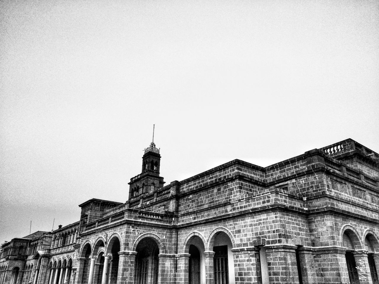 Architecture Building Exterior Built Structure Travel Destinations City Politics And Government Travel Sky Government Outdoors No People Clock Tower Day University Campus University University Of Pune Oldbuilding