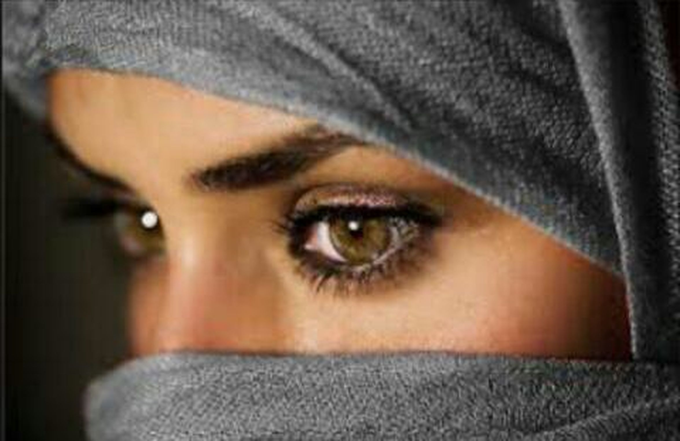 When I Cry I Dont Show My Face . How I Feel About You ..Is Something You'll Never Understand  Arabic Eyes