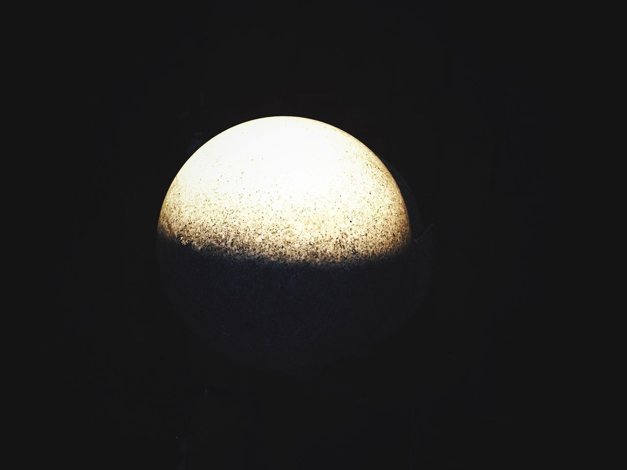 EyeEmNewHere Black Background Yellow Moon EyeEmBestPics Interesting Perspectives Enjoying Life Guess Popular Photos EyeEm Edits EyeEm Best Shots Nature Close-up Night Astronomy Half Moon guess what? Just the stone. Like the half moon when the light of the car shines