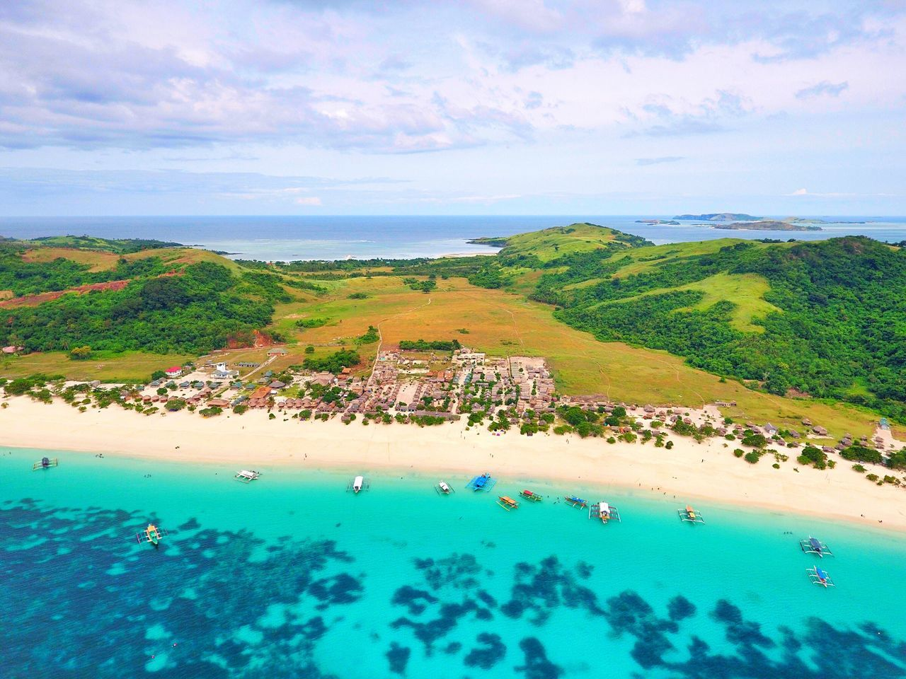 Water Sea Beach Tranquil Scene Horizon Over Water Vacations Scenics Tranquility Sky High Angle View Aerial View Travel Destinations Blue Coastline Seascape Trip Drone  Eyeem Philippines Whitesand Shore Swimming Ocean Island Traveling
