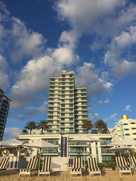 Architecture Beach Life Black And White Black And White Collection  Building Exterior City City Life Community Composition Development Human Settlement Low Angle View Miami Beach Modern Montecarlo Morning Beach Walk Outdoors Pattern Pieces Residential Building Residential Structure Sky