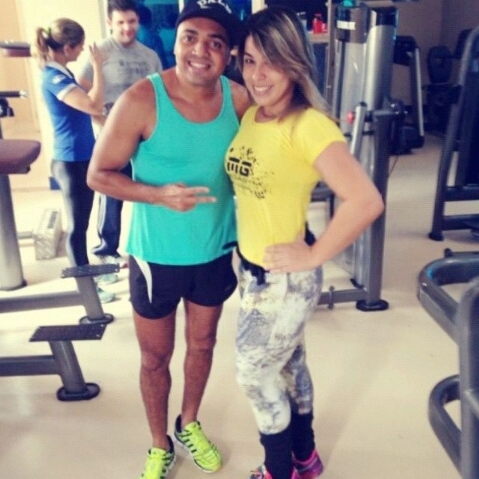 Atrapahando o treino do abestadÓ mais querido do Brasil hahaha @tirullipa Amordepessoa