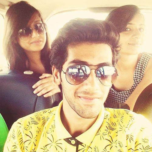 Had  A Grt Day Wid U Guyzz Pawan Neha  !!!! Summertime Amritsar Alphaonemall Vehli Roadtrip Fun ^*_*^