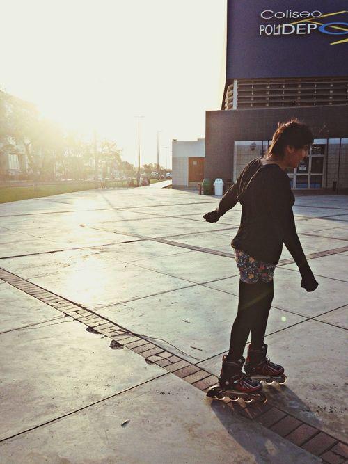 Patinando patinando Artstudent Sunnyday Pucp Bestfriends <3