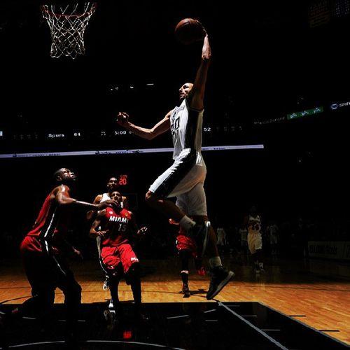 Manu Ginobili NBA Spurs basket
