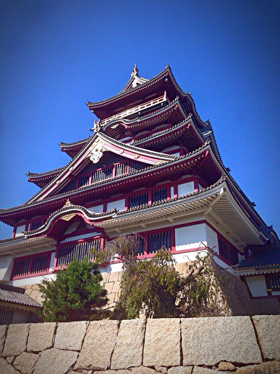 Kyoto Japan Fushimi Fushimimomoyamajyo Castle Blue Sky Summer 京都 日本 伏見 伏見桃山城 城 夏