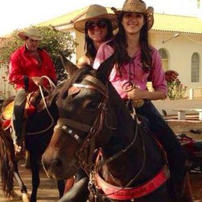Melhor companheira de cavalgada ❤️ Segura Laís kkk