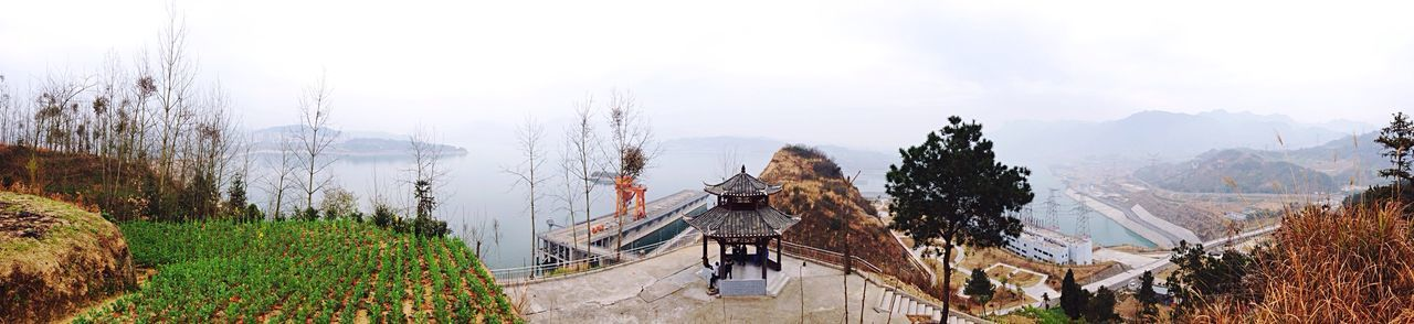 Enjoying The View Panorama Water Supply Dam Yangtze River The Places I've Been Today The Great Outdoors - 2015 EyeEm Awards