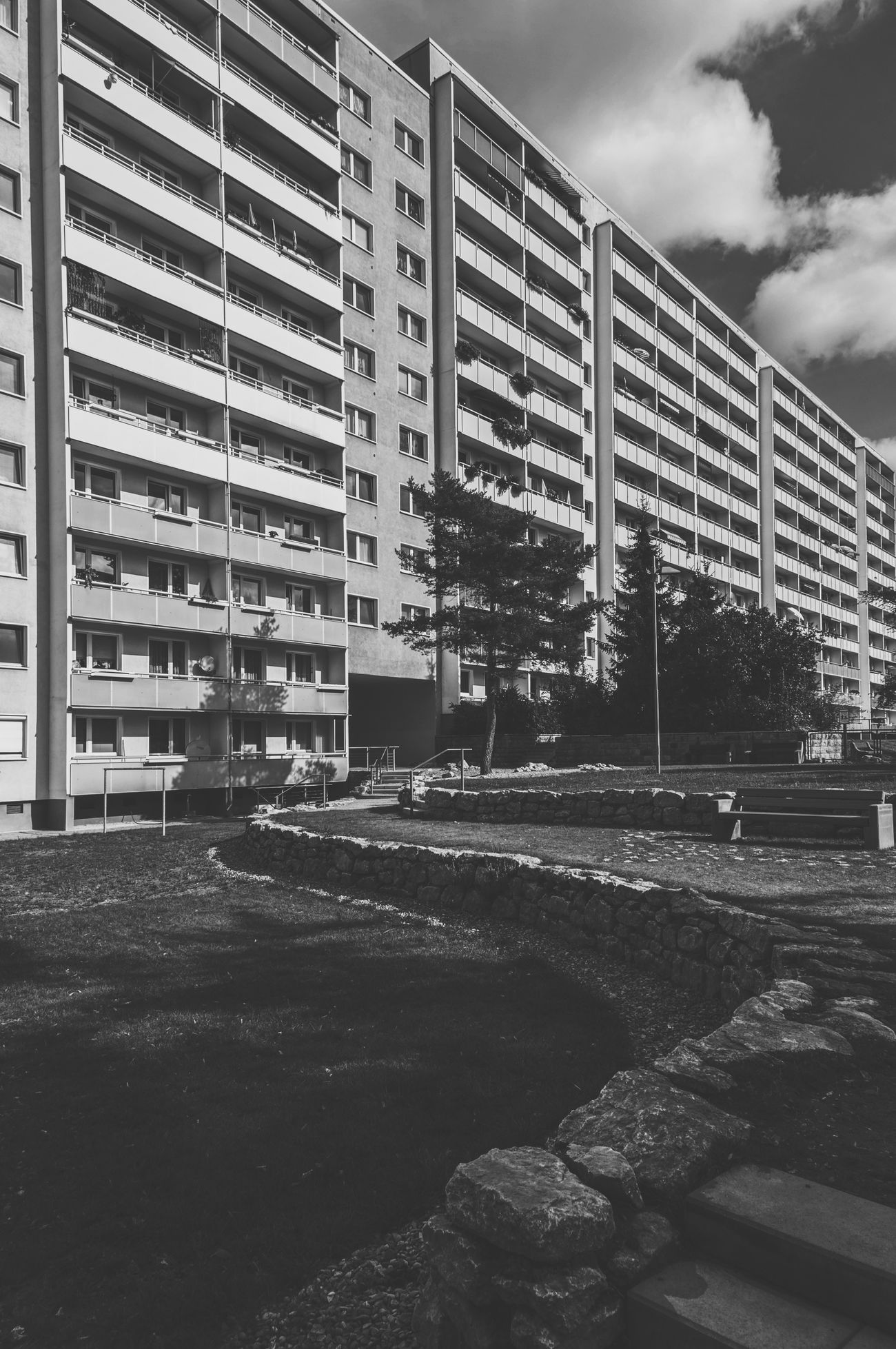 Plattenbau Prefabricated Houses Prefabricated Building Prefab House Houses Building Buildings Exterior View Building Exterior Jena Architecture Day No People Germany Black And White Blackandwhite Black & White Blackandwhite Photography Urban The Architect - 2016 EyeEm Awards