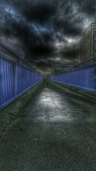 Tunnel Vision Death Valley Blue HDR Getting Medicine Bloods  Drs Appt Check Up Dark Photography Journey Into The Dark