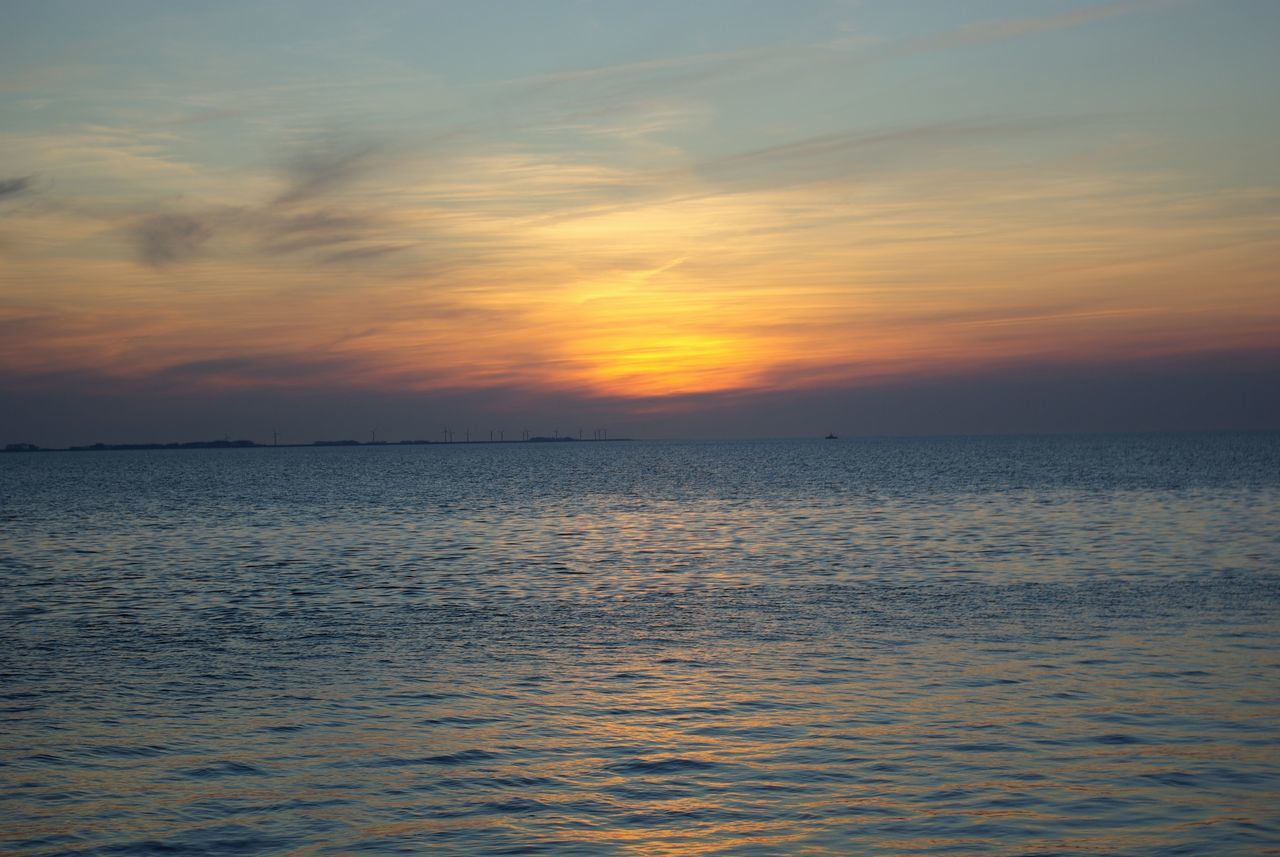 Beauty In Nature Beauty In Nature Calm Sea Clouds Cold Water Drowning Melancholy Nature No People North Sea Ocean Outdoors Scenics Schleswig-Holstein Sea Sea And Sky Seaside Sky Sundown Sunset Tranquil Scene Tranquility Water Waterfront Waterfrontview