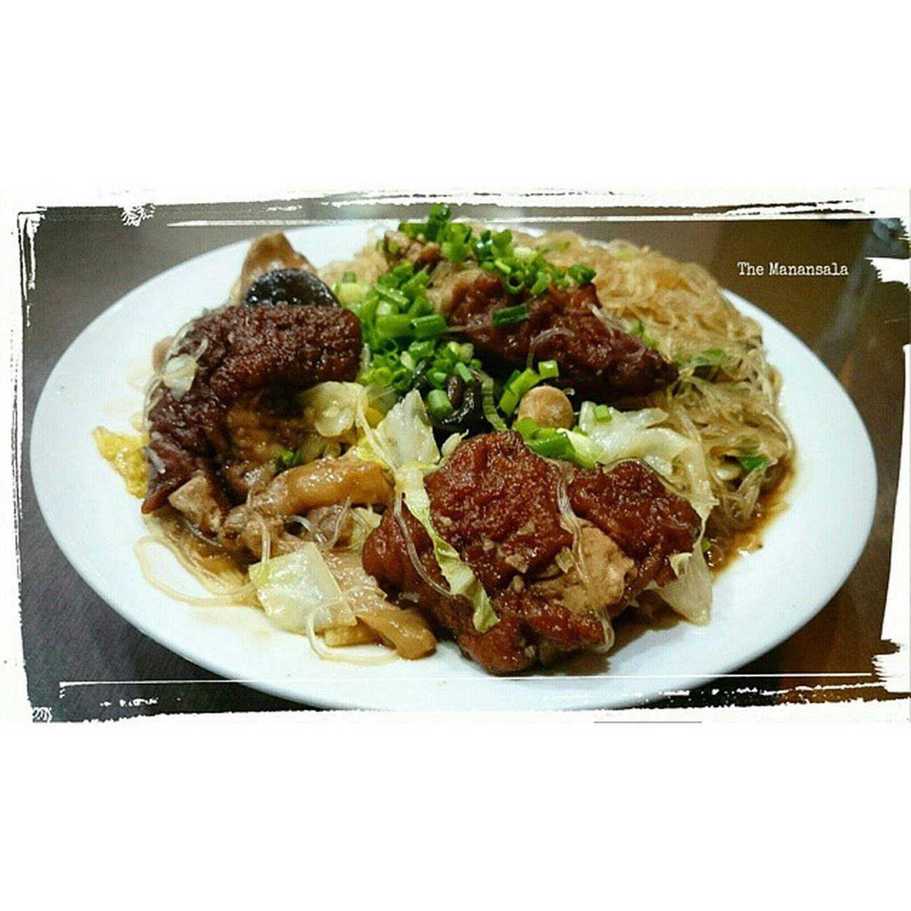 Braised Patatim + Rice Vermicelli 🍴 . . . Foodgasm Foodporn KitchenBoss