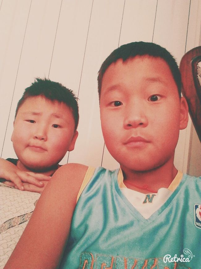 With my bro :D