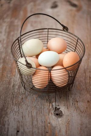 Organic eggs in vintage basket Easter Easter Basket  Easter Ready Egg Egg Basket Eggs EGGS IN BASKET EyeEm Best Shots EyeEm Gallery Organic Eggs Organic Food Still Life