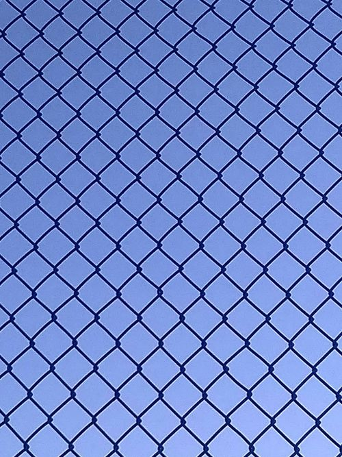 Backgrounds Repetition Pattern Textured  Modern Full Frame Crisscross Close-up Outdoors Architecture Built Structure Chainlink Fence Chainlink Fence Fenced In Fence Pattern Lines Shapes And Patterns  Shapes , Lines , Forms & Composition Shapes Shapes And Lines Lines And Shapes Blue Lines And Angles Lines And Patterns