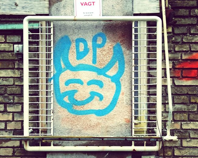 Urban Animal Drawing Lines And Shapes Painted Image Street Photography Urban Landscape Graphic Aerosol Outline Lines, Shapes And Curves Urbanphotography Graffiti Spraypaint Spray Paint Streetphotography No People Wall - Building Feature Amusement  Outdoors Demon Smile Horned Hornedgod Devilish