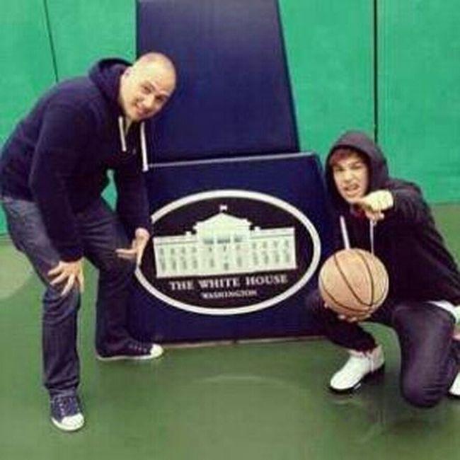 Ballin At The White House On Obama's Court!