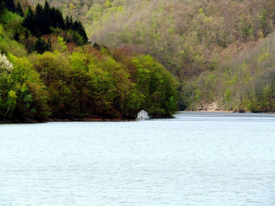 Outdoors Nature No People Lonely Place  House Beauty In Nature Boat Countryside Lakeside Landscape Lake View Water Quiet Moments Tarnica Alone From My Point Of View Fine Art Photography Todayphotography Cluj-Napoca Romania Nature Photography Mountain Wood Forest Photography Calm The Secret Spaces