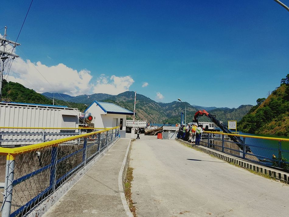 Keteg ay US. Sky Day Water Outdoors Nature Mountain Beauty In Nature Bridge - Man Made Structure Electricity  Beauty In Nature Structures And Architecture Construction Eyeem Philippines Philippines Itogon