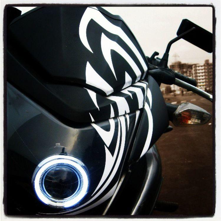 My Bike.. My Love... <3 Honda Dazzler Projector Angel Tribal