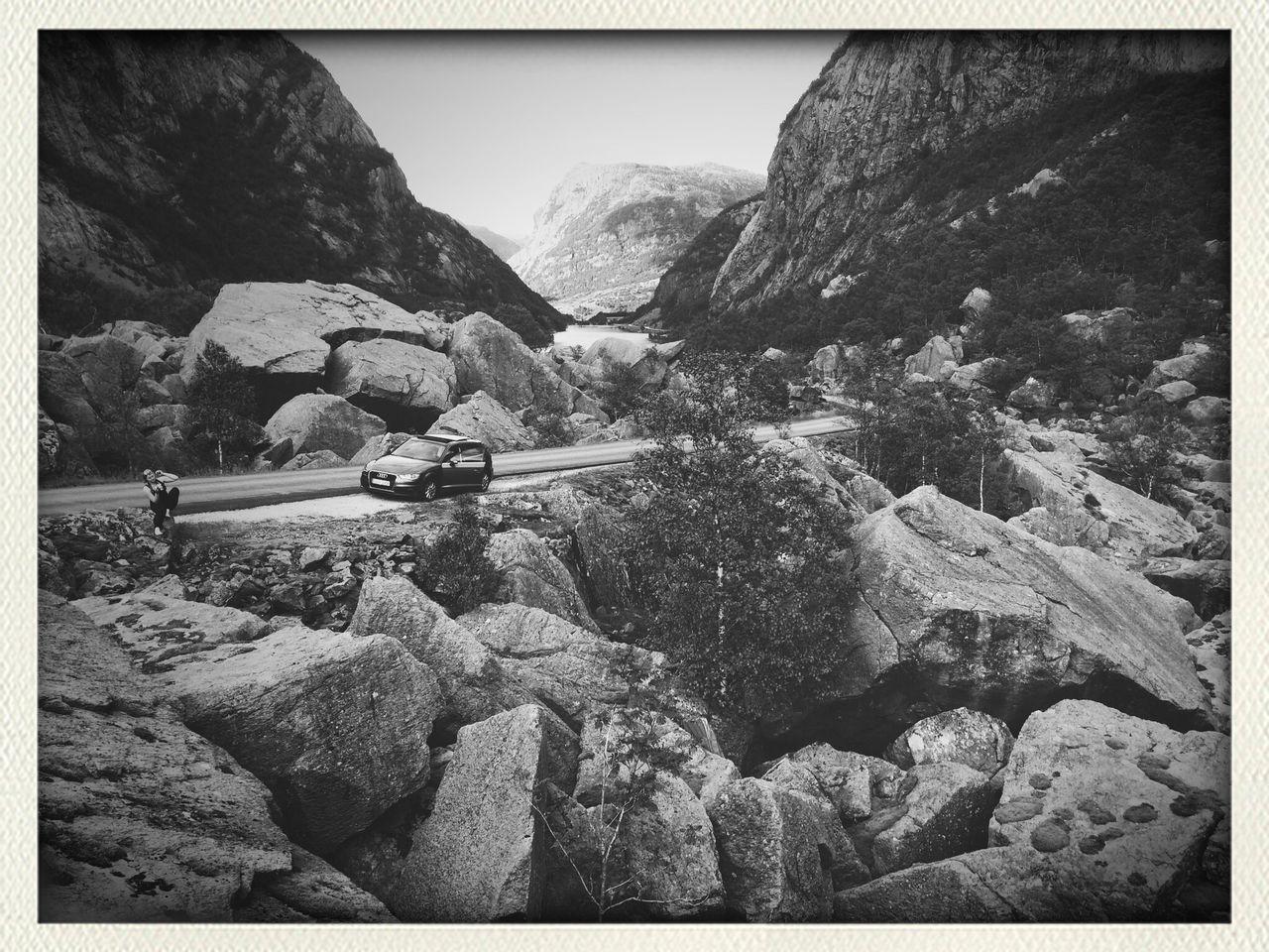 Spectecular Stones Stonework Rough Gigantic Huge Mountains Tiny Dessert Black And White Blackandwhite Photography
