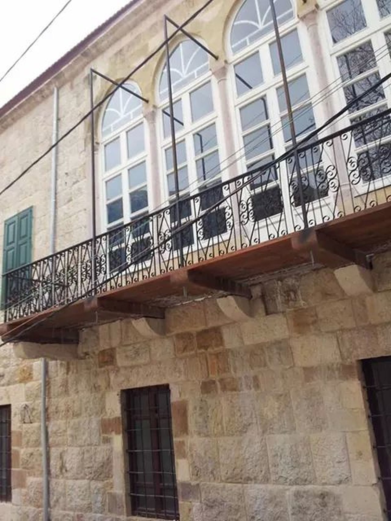 Architecture Walking Around From My Point Of View Taking Photos an old balcony in Ehden
