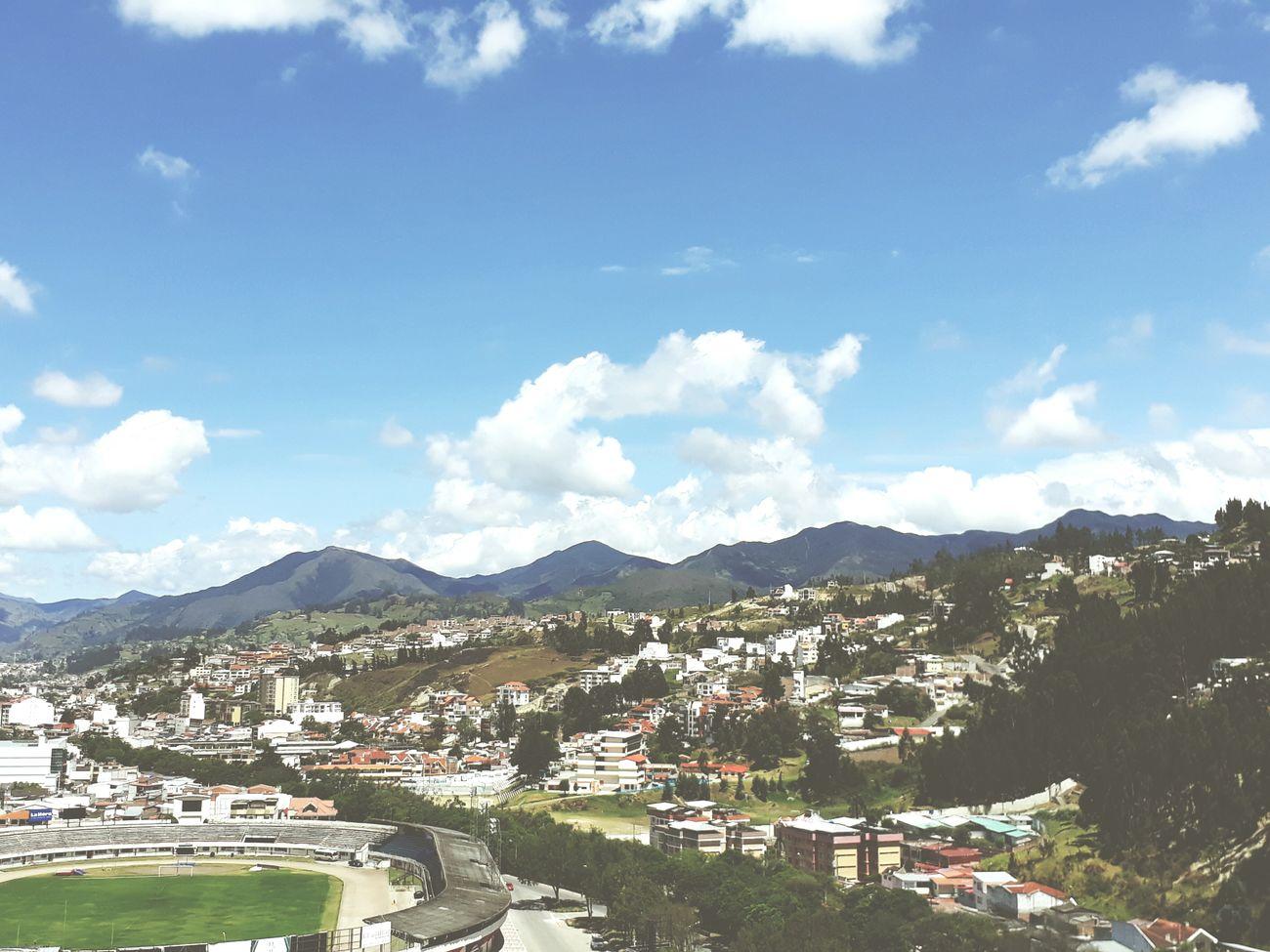 Sun day, fun day 😎 my little city💚 Cloud - Sky Loja, Ecuador