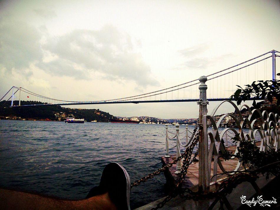 Relaxing Istanbuldayasam Fatihsultanmehmetköprüsü Sea Hi! Baysakal Doğa Taking Photos Eye4photography  Hello World sabah kahvaltısı..☕🚬😯