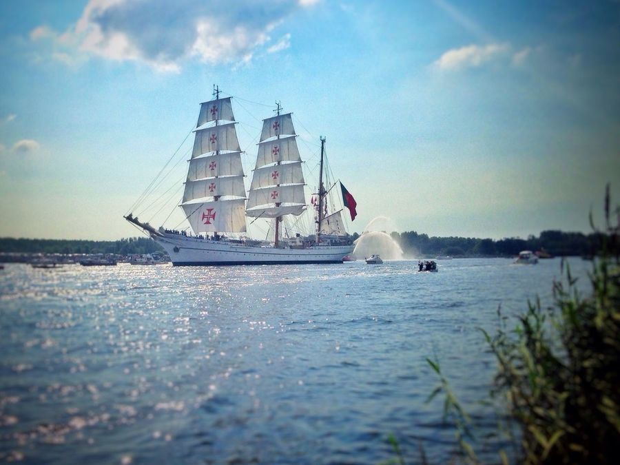 Sail2015 Boat Noordzeekanaal Amsterdam