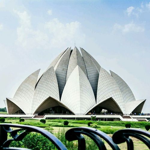 Lotus temple.. India Travel Taking Photos Architecture Views Travels