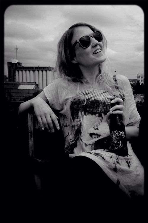 Rooftop Leuven, Belgium Black & White Portrait