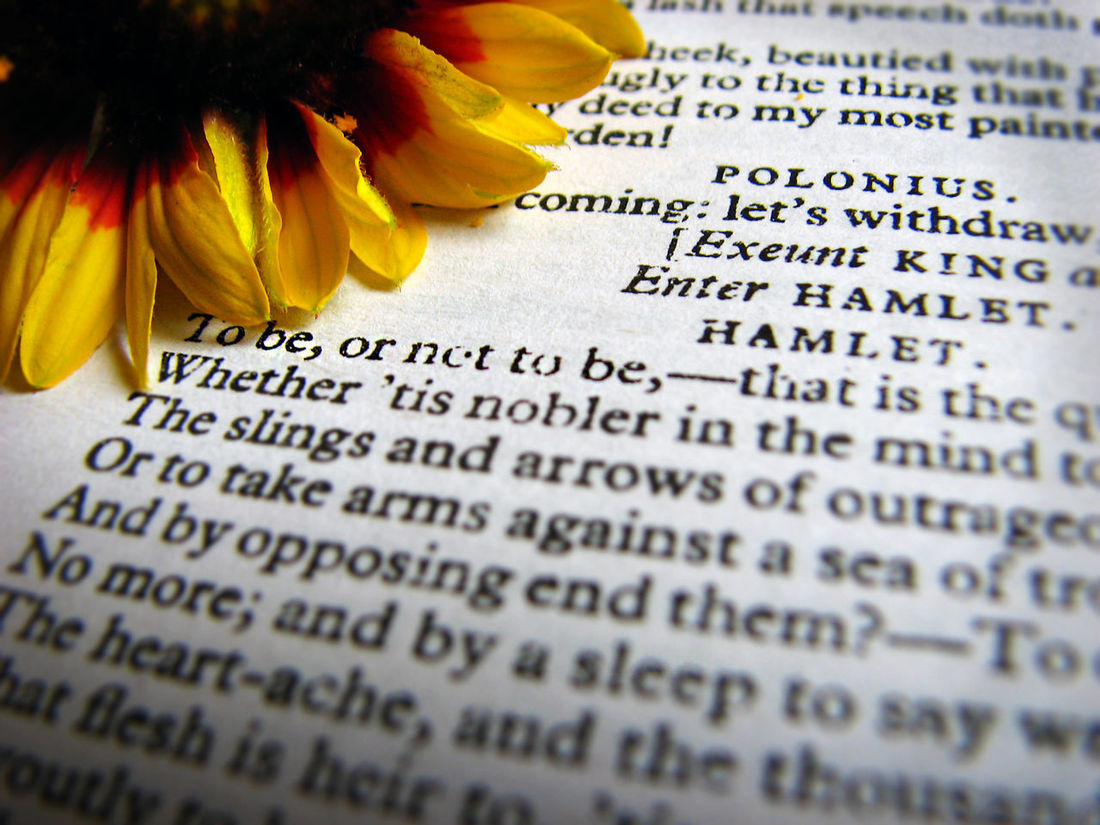 Book Books Books ♥ Close Up Close-up Detail Education Flower Focus On Foreground Full Frame Literature Macro No People Paper Reading Shakespeare Text Tobeornottobe Western Script First Eyeem Photo Art Is Everywhere