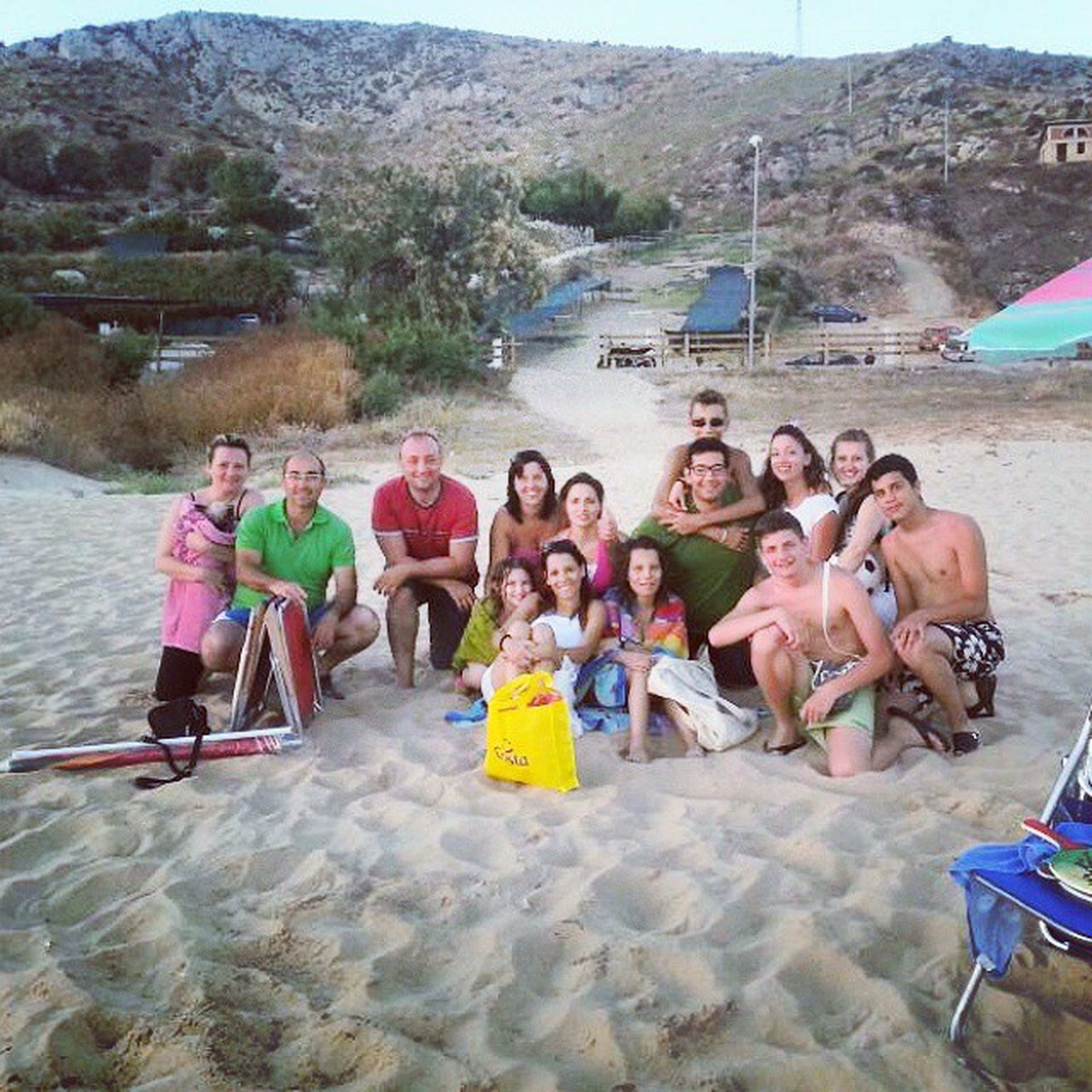 lifestyles, leisure activity, water, vacations, mountain, casual clothing, person, travel, full length, transportation, men, day, rock - object, tourist, outdoors, large group of people, enjoyment, tourism